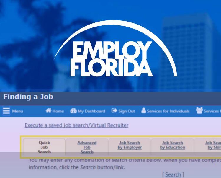 Job Searching in Employ Florida